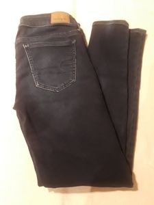 American Eagle Super Stretch Skinny Jeggings Sz 4